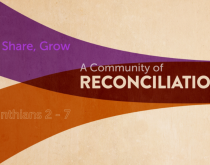 A Community of Reconciliation